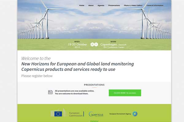 European Commission - Copernicus - European Enviroment Agency