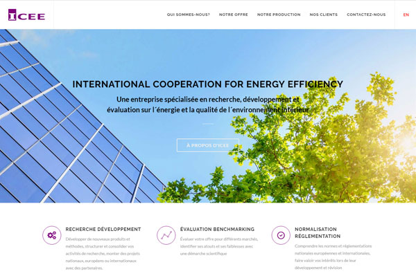 INTERNATIONAL COOPERATION FOR ENERGY EFFICIENCY